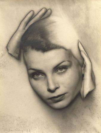 Man Ray, Solarized Portrait of Mary Gill, 1931