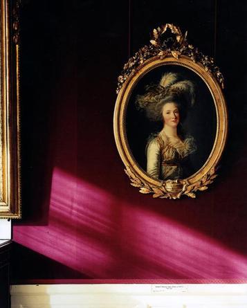 Portrait of Elizabeth Phillipine Marie Helene de France, by Adelaide Labille-Guiard, 1788; Chambre du Capitaine des Gardes, Corps Central - RdC, Versailles, 2005