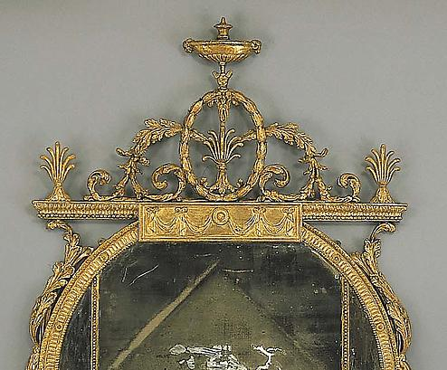 An Extraordinary George Iii Giltwood Pier Mirror In The