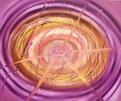 DANIEL HESIDENCE Untitled (Waltz Paintings) 2005 oil paint on canvas 24 x 29""