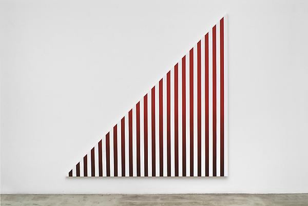 Philippe Decrauzat Slow Motion #1, 2008 Acrylic on canvas 84.625 x 84.625 inches