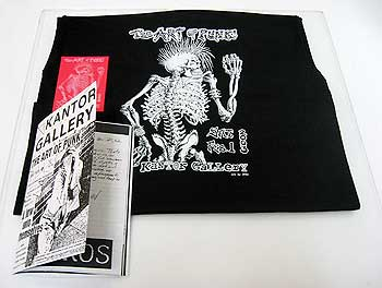 Art of Punk T Shirt and Flyer