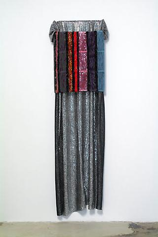 MICHAEL MAHALCHICK Jackie, 2007 Mixed media 72 x 18x 10 inches Courtesy of the artist and Canada Gallery