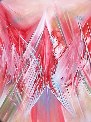 DANIEL HESIDENCE Untitled (Waltz Paintings) 2005 oil paint on canvas 72 x 60""