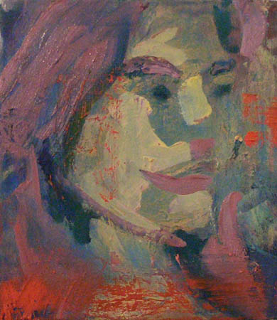 """Julie"" 10 x 8 inches 2004"