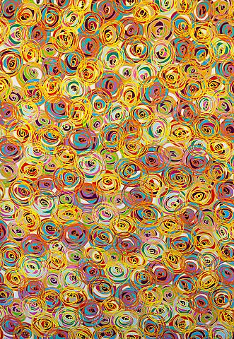 Dennis Koch Untitled, 2010 Colored pencil on paper 58 x 40 inches