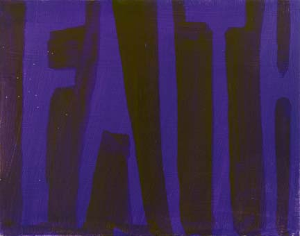 "DANA FRANKFORT FAITH 2006 Oil on canvas 11""x14"""