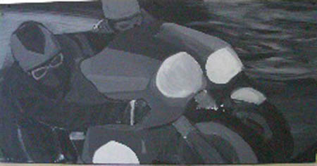 """""""Untitled #5"""" 12 x 48 inches"""