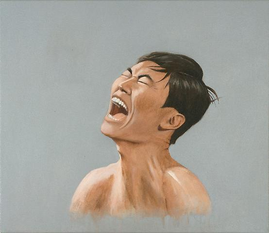 Luke Butler Sulu, 2009 acrylic on canvas 17x21 inches