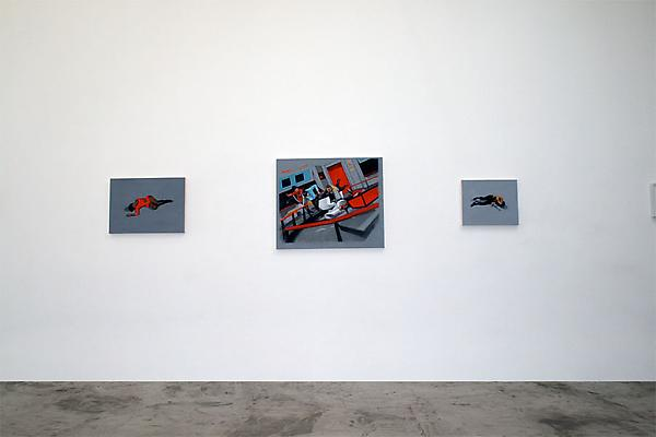 "Luke Butler ""Drop Shadow"" Installation view"