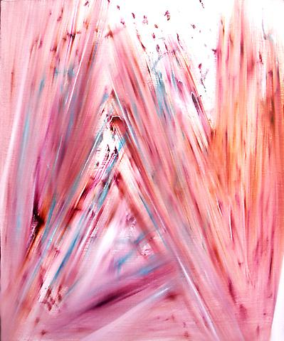 DANIEL HESIDENCE Untitled (Waltz Paintings) 2005 oil paint on canvas 29 x 24""