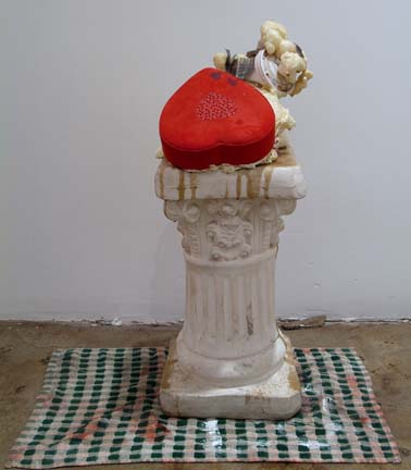 JUSTIN LIEBERMAN Love Sculpture 2007 27 x 14 ½ x 23 ½ inches