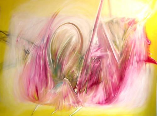DANIEL HESIDENCE Untitled (Waltz Paintings) 2005 oil paint on canvas 79.25 x 108""