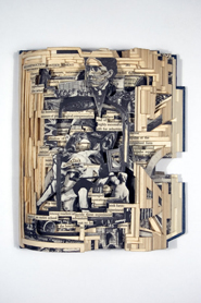 Brian Dettmer: Altered Books - Society and Thought in Modern America