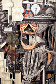 Brian Dettmer: Altered Books - The Volume Library (detail)