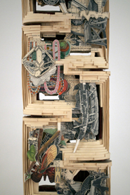 Brian Dettmer: Altered Books - Smith's Scientific Series (detail)