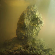 Kim Keever - Eroded Man 40c