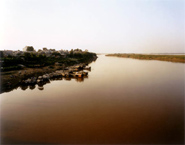 Doug Hall - Red River, Hanoi (Looking North)