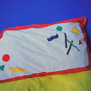 By Invitation Only - Still Life (geometry pillow)