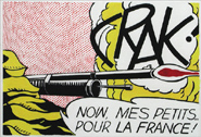 OnLine - CRACK! [After Roy Lichtenstein]