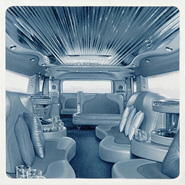 Blessed are the Merciful - Hummer Interior