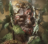 Kim Keever - Eroded Man 14c