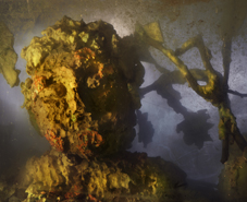 Kim Keever - Eroded Man 16f