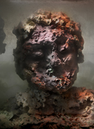 Kim Keever - Eroded Man 18f