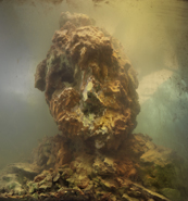 Kim Keever - Eroded Man 49c