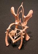 Eugene Von Bruenchenhein - Bone Chair