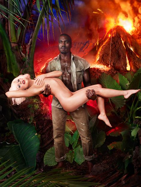 Lady Gaga and Kanye West: Volcano