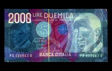 Negative Currency Project: Italian Lira
