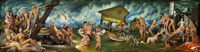 David LaChapelle a Venezia - Deluge