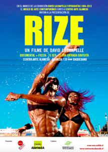 The screening of RIZE in Santiago de Chile