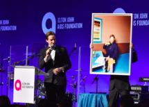 David LaChapelle at the  14th Annual Elton John AIDS Foundation Benefit