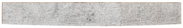 Untitled 2014 white-out,crayon,pencil drawing on found paper 78 x 408 cm