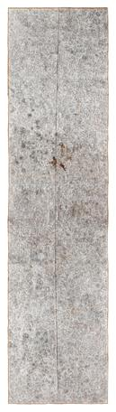 Untitled 2013 - 2104 white-out,crayon,pencil drawing on found paper 408 x 121 cm