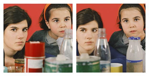 Exposure #70: : Munich studio, 05.10.09, 3:03 p.m. 2009 ultrachrome ink on cotton paper 2 parts 60 x 60 cm each