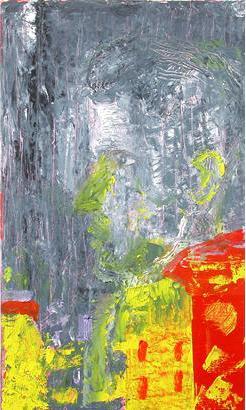 Nattsuddaren 2006 oil on wood 54 x 32 cm