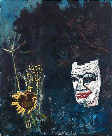 Höstens öga 1996 - 1997 oil on canvas 100 x 80 cm