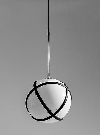 Skelder lamp polycarbonate, rubber and stainless steel 1995