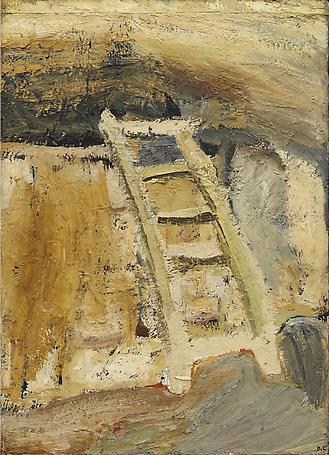 Stegen 1952 oil on canvas 136 x 105 cm