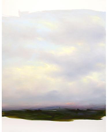 Gewölk 24.07 2005 oil on canvas 190 x 150 cm