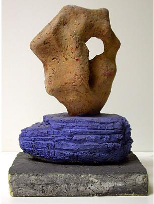 Untitled terracotta 22 16 x 12 cm