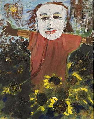 Utställd 2008 oil on canvas 43 x 41 cm