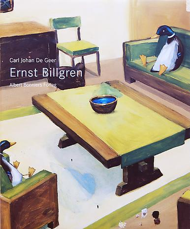 ERNST BILLGREN  - ERNST BILLGREN  Hardback 29 x 23.5 cm 167 pp Illustrated throughout Essay and interview by Carl Johan De Geer  Published by Albert Bonniers Förlag, Stockholm 2000 ISBN 91-0-057249-7   Price: SEK 400