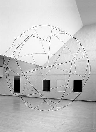 Sphere installationview Skövde Konsthall 2002