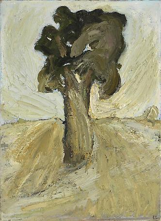 Trädet 1955 oil on canvas 100 x 73 cm