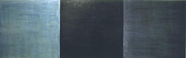 Untitled 1989 oil on canvas 170 x 510 cm (triptych)