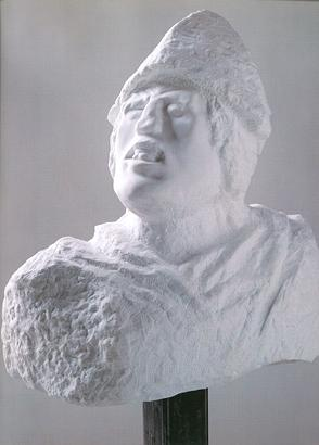 Golem 1998 prilap marmor 67.3 x 55.9 x 31.8 cm